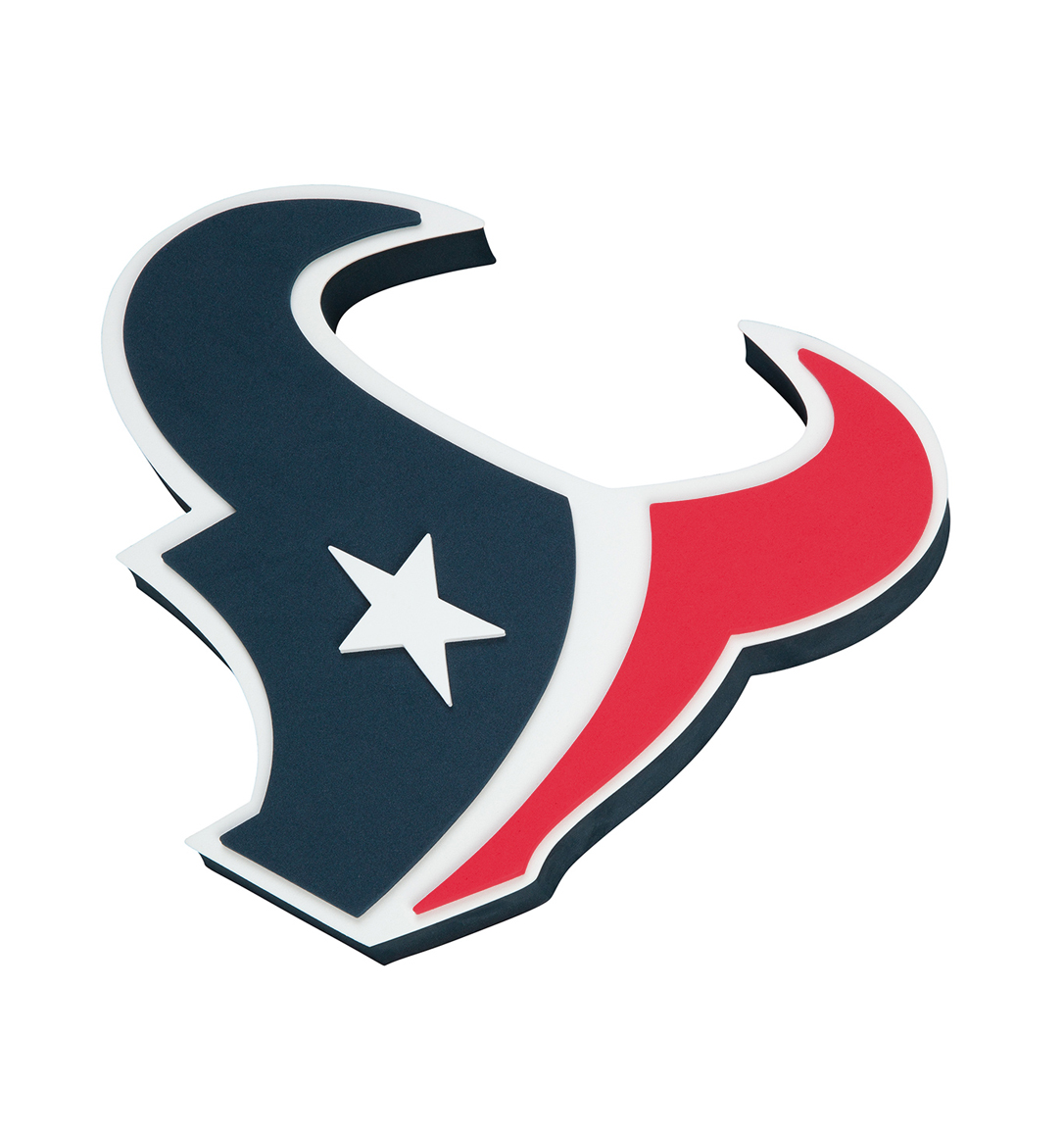 Houston Texans: Houston Texans Foam Sign